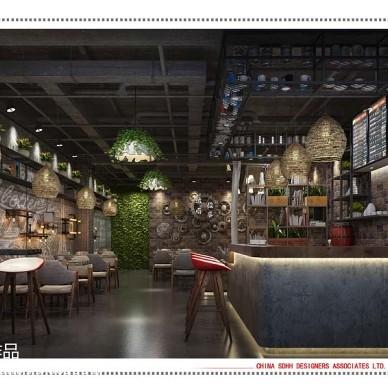 南宁咖啡厅设计 南城故事_2745011