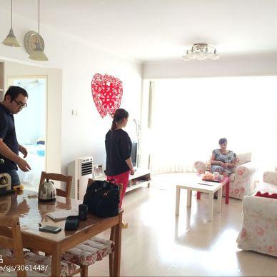 望京花园两居室简美风格案例_2746026