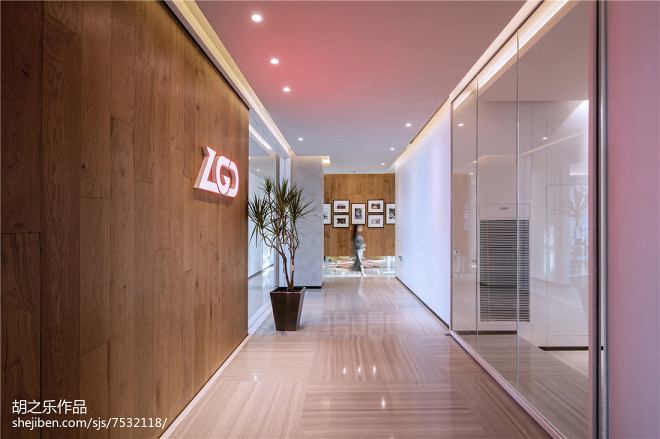 VPGAME 办公室大门设计图