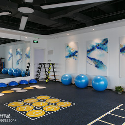 fitness 私教中心活动区设计