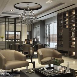 豪华现代风格餐厅装修图片