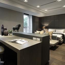 豪华现代风格卧室设计图