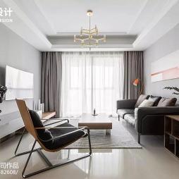 简单现代风格客厅设计图