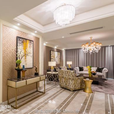 尚层国际家居 杭州家居装修 钱塘印象 摩登都市风格软装设计_2764266