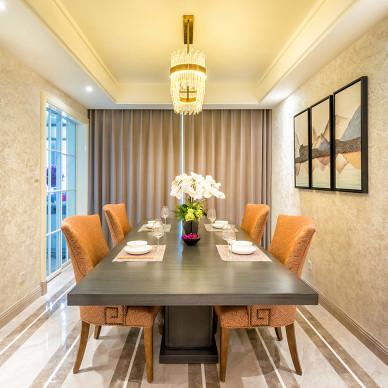 尚层国际家居 杭州家居装修 钱塘印象 摩登都市风格软装设计_2764267