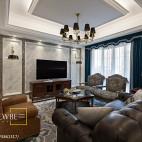 典雅美式客厅装修图