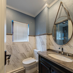 小型美式卫浴设计图片