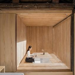 扭院儿 – 北京四合院改造 / 建筑营设计工作室茶室设计图