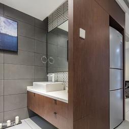 时尚现代家居卫生间装修效果图