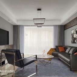 简约风格经典客厅装修效果图