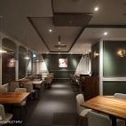 DORICIOUS就餐区过道设计图