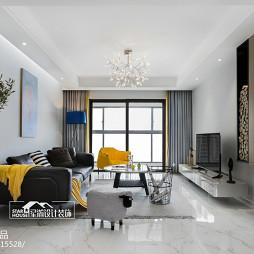 简约现代客厅设计图片