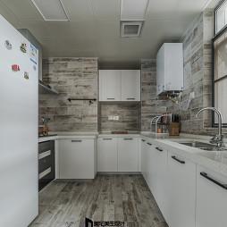个性现代厨房设计图片