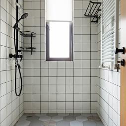 简单现代卫浴装修设计图
