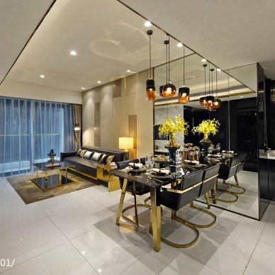 香港洪德成设计|前海东岸花园样板房6_2792364