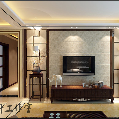 新中式与美式完美结合_2794315