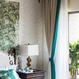 自然混搭卧室台灯设计图