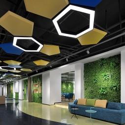 东银创新工场大厅设计图