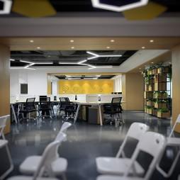 东银创新工场办公区设计图