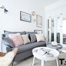 小温馨北欧客厅设计图