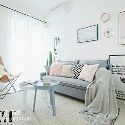 小温馨北欧客厅设计图片