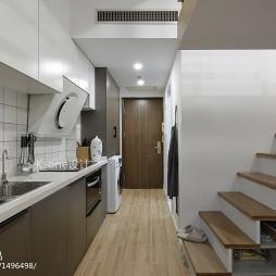 现代小户型厨房设计效果图