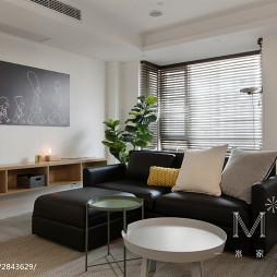 120m²北欧客厅沙发设计图