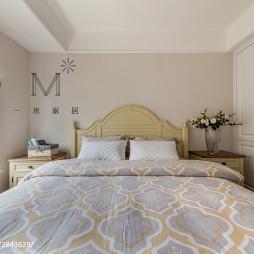 137m²美式卧室设计效果图