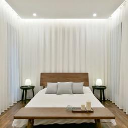 简约风格别墅卧室设计图