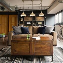 loft风格客厅设计图片