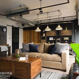 loft风格客厅沙发设计图