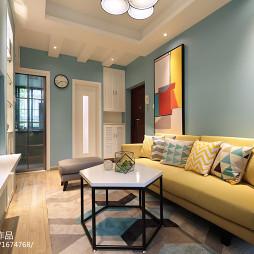 时尚简约风格客厅设计图片