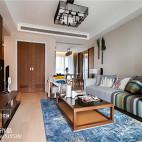 时尚新中式客厅图片