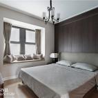 时尚新中式卧室设计图