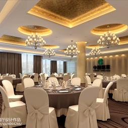 中国烟草宴会厅餐厅设计_2806191