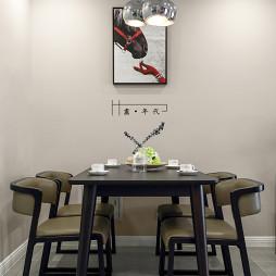 个性北欧风格餐厅设计图