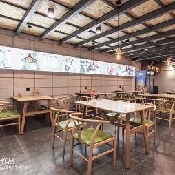 牛炖餐厅整体设计图片