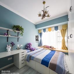 创意混搭风格儿童房设计图