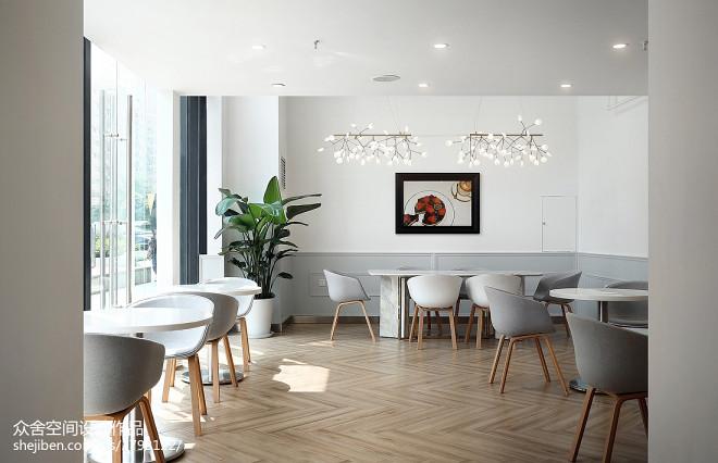 小巴黎法式甜点咖啡厅就餐区设计图