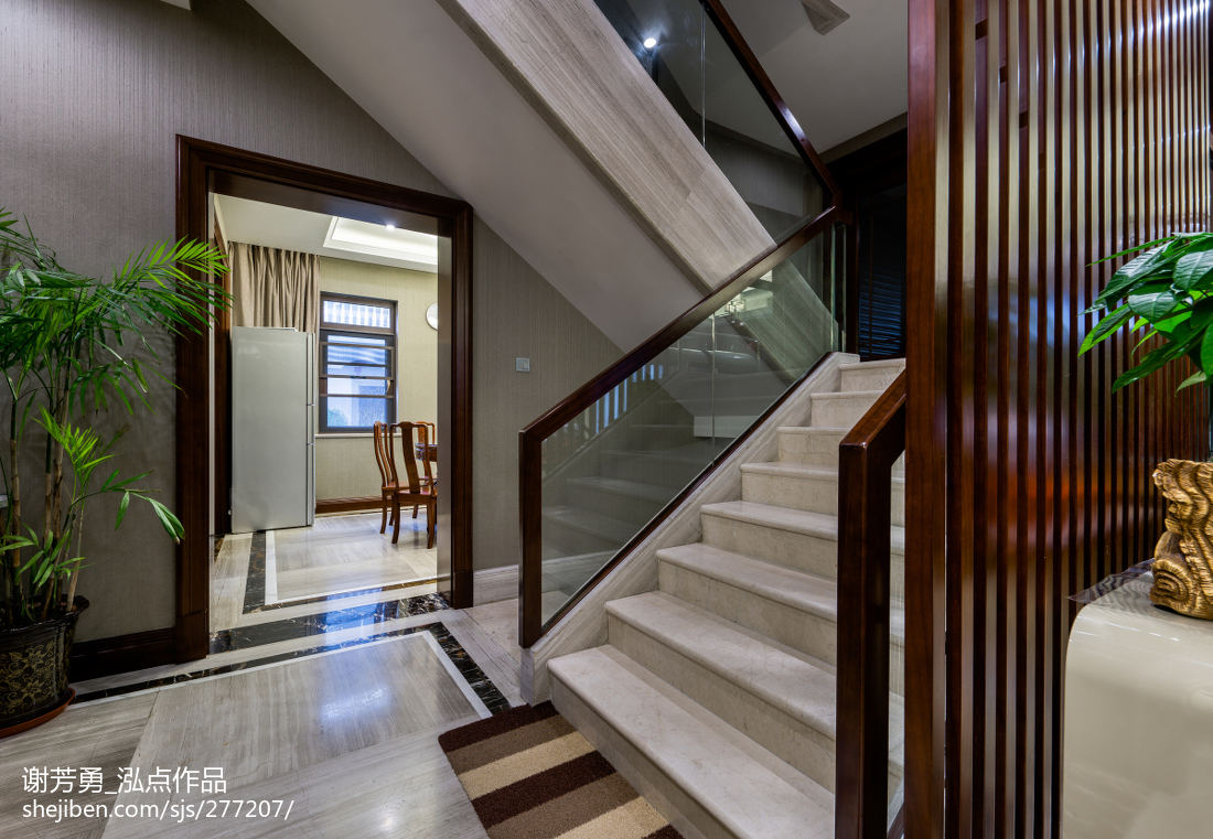 中式风格别墅客厅装修