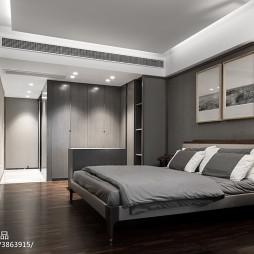 东方意境中式卧室设计图