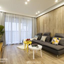简单北欧风格客厅沙发设计图