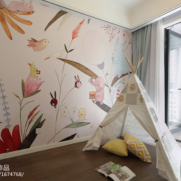 浪漫法式风格儿童房设计图片