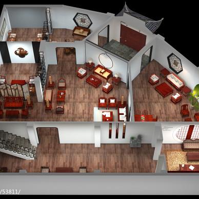 豪门红木展厅设计_2819201
