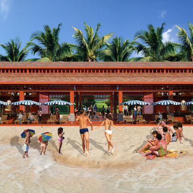 景区沙滩吧设计_2825232