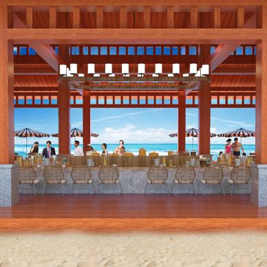 景区沙滩吧设计_2825233