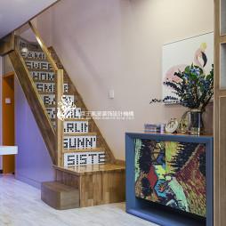 样板房北欧楼梯设计图
