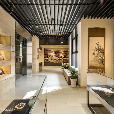 贾平凹文化艺术馆物品展示设计图