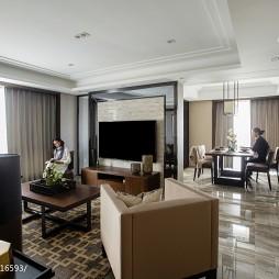 中式二居小客厅设计图