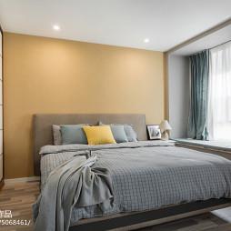 简欧三居卧室设计图片